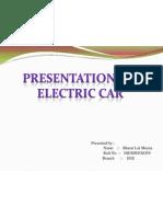 Presentation on Electric Car