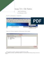 NetBeans 7.0 +Git