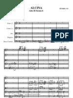 HANDEL GF, ALCINA, Aria Di Ruggiero Con Flauti