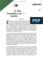 Fazio - Los 132, The Guardian y El Miedo