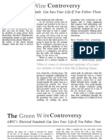 Green Wire Controversy