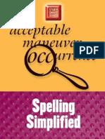 Spelling Simplified (Study Smart)