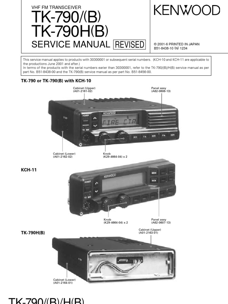 kenwood tk 790 service 2001 radio power supply rh scribd com Kenwood Tk 790 Software Kenwood Tk 790 Software