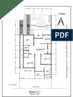 6 Ide Desain Denah Rumah Pada Lahan Memanjang by Argajogja