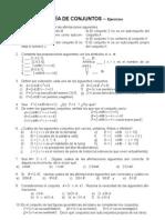 Ejercicios Teoria de Conjuntos