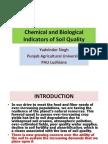 Chemical and Biological Indicators of Soil Quality - Yadvinder Singh, PAU