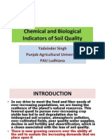 Chemical and Biological Indicators of Soil Quality - Yadvinder Singh, PAU