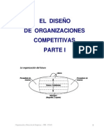 Diseno de Organizaciones Competitivas RESUMEN PARTE 1