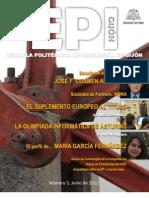 EPI, la revista de la Escuela Politécnica de Ingeniería de Gijón