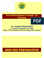 Farm Mechanization in Punjab – An Overview - Dr. Jaskarn Singh Mahal