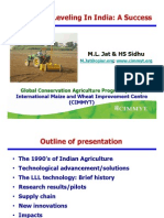 Laser Land Leveling in India - A Success - M.L. Jat & HS Sidhu