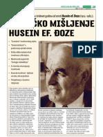 Kritičko mišljenje Husein ef. Đozo - dr. Enes Karić (Preporod, 01. 06. 2012. god.)