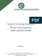 Izazovi Civilnog Drustva u BiH