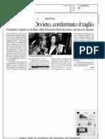 Il Messaggero Umbria - 11 giugno 2012