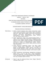 Pp. No. 1 Tahun 2007 Tentang Fasilitas Pajak Penghasilan