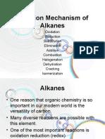 Reaction_Mechanism of Alkanes