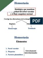 HEMATOLOGÍA 11 y 12 - Trombosis y fibrinólisis