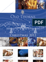 Old Thorns Xmas Brochure