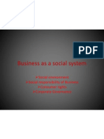 1. Business as a Social System