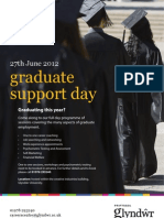 Graduate Support Day 27th June
