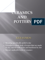 Cermaics and Pottery Lecture[1]