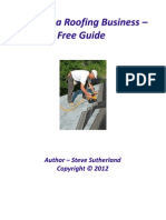 Starting a Roofing Business - Free Guide