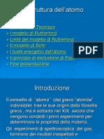 i Modelli Atomici