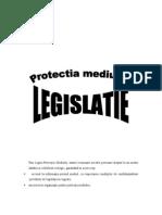 Protectia mediului - LEGISLATIE