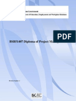 BSB51407 Diploma of Project Management
