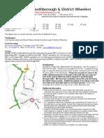SDW25 2012 Start Sheet1