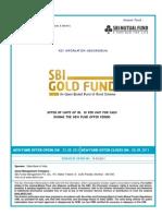 SBI Gold Fund