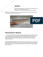 Thermometer Platina