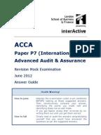 ... P7 Revision Mock June 2012 ANSWERS Version 4 FINAL at 5th May 2012