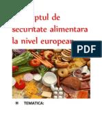 Securitatea Alimentara