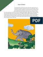 Tingu, The Elephant - Suma N Hegde