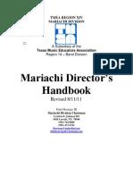 Mariachi Director Handbook Revised 8-11-11