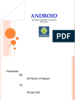 Android-Opersting System-Presentation by Farhan
