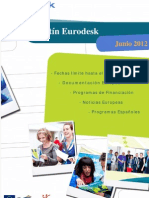 Boletin Eurodesk Junio 2012