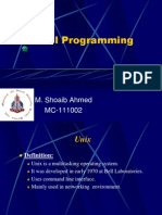 Shell Programming by Shoaib Ahmed