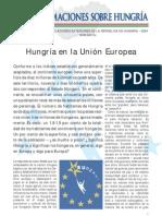 hungría en la unión europea