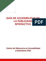 Accesibilidad en La Publicidad Interactiva