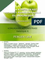 Etika Komunikasi Pejabat Pemerintahan Di Indonesia