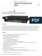 Nagios - EnVIROMUX Server Environment Monitoring System