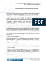 CARACTERIZACIÓN Y COMPARACIÓN DE CUENCAS