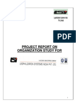 Project Report on Organization Study