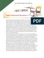 Análisis al documental de panzazo