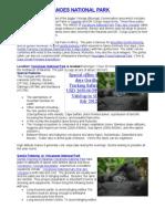 Rwanda Volcanoes National Park Gorilla Tracking, Hiking, Trekking