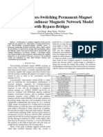 !!!---Analysis of Flux-switching Permanent-magnet Machine by Nonlinear Magnetic Network Model With Bypass-bridges