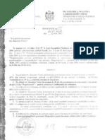 Dispoziţiile primarului nr. 111 - 155, 2012