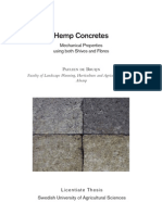 Hempcrete Thesis of Swiden